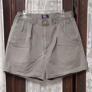 Tan Blue Label Chino Shorts By Polo Ralph Lauren